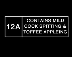 Rating: cock spitting and toffee appleing